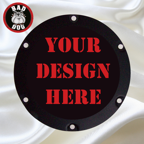 Your Design Timing Cover Bad Dog Custom